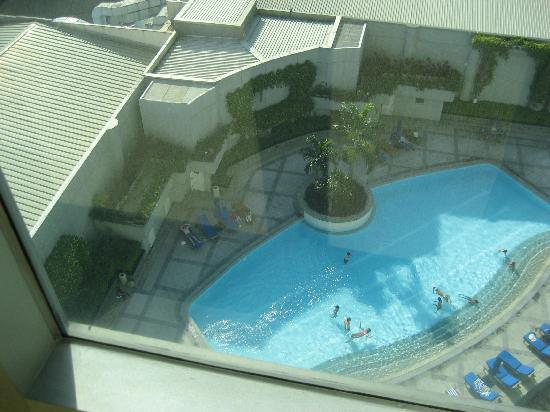 Ascott Makati: view from our room...