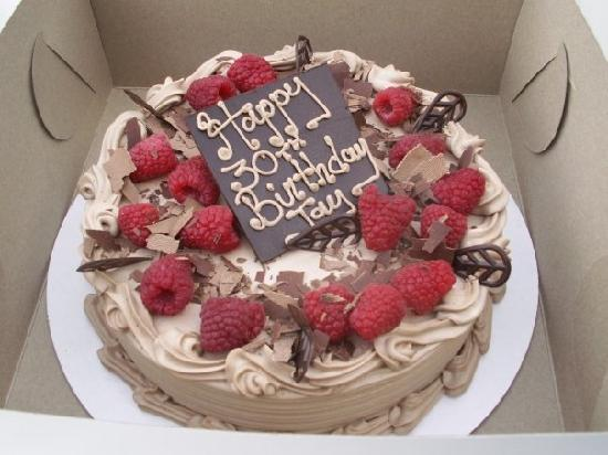 My Hubby S Bday Cake Picture Of Blue Icing Dessert Bakery