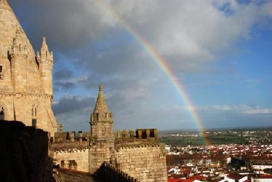 Sé Catedral de Évora : 屋上