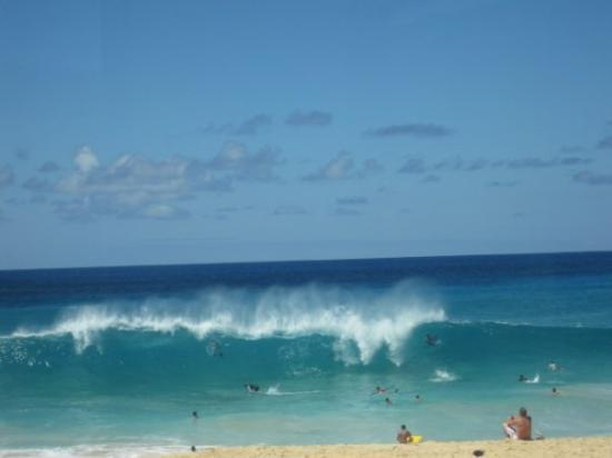 big waves at North Shore
