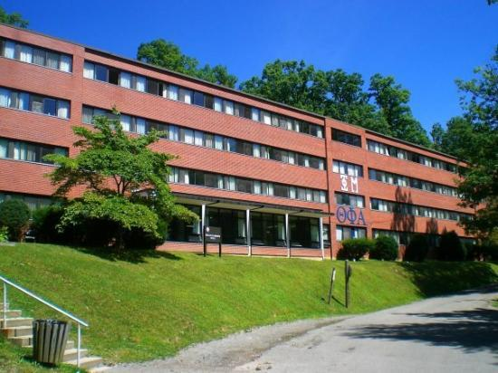 Elkins, WV: My Dorm building....sorority central. It's udder chaos here 24/7!!