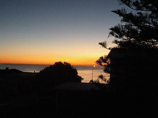 Cottesloe Waters Executive Apartments : Sunset view from the balcony