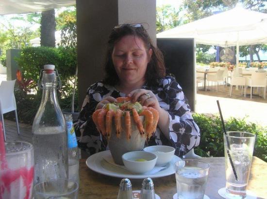 Airlie Beach, Australia: A light snack!!