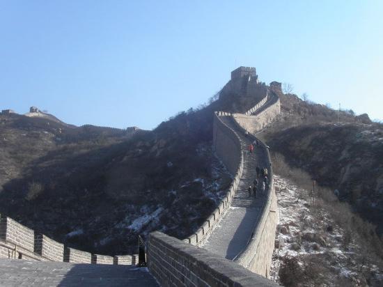 Den kinesiske mur ved Mutianyu: THE GREAT WALL