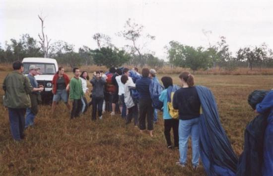 Atherton, Australia: Packing up the Balloon
