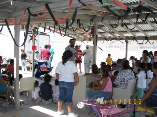 Ciudad Juárez, México: 2006 VBS Jonathan as Lazaro