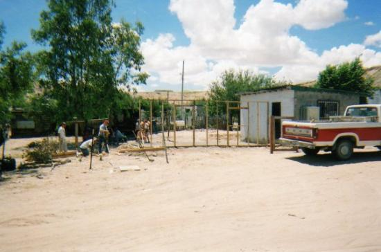 Ciudad Juarez, Mexico: 2006 Starting Jazmin's house addition.