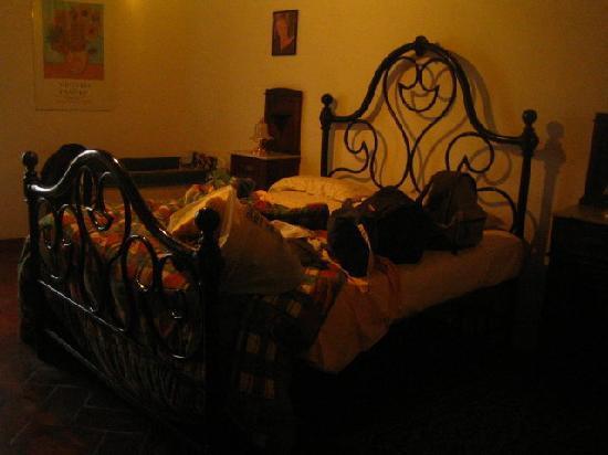 Residenza d'Epoca Palazzo Buonaccorsi: il bellissimo e comodissimo letto