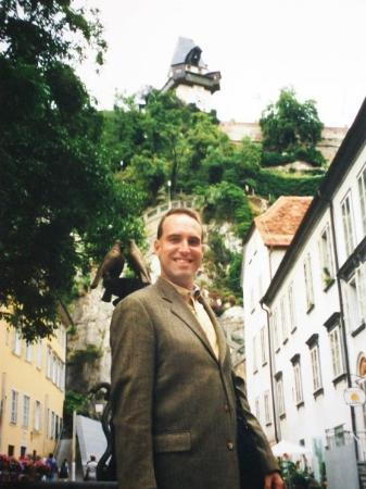 Joe Bartel, Jr. The Clocktower at Graz, Austria August, 2001