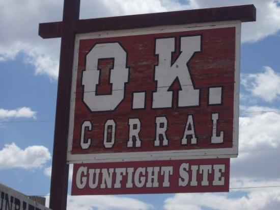 O.K. Corral: Tombstone, Arizona 2009