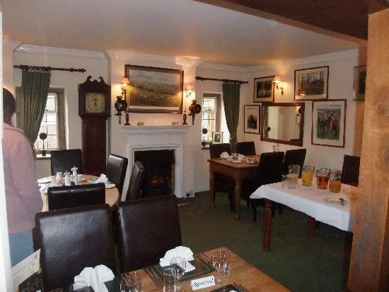 The Plough Inn at Ford: The Dining Room/Restaurant