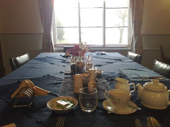 Middleton Grange: The dining room
