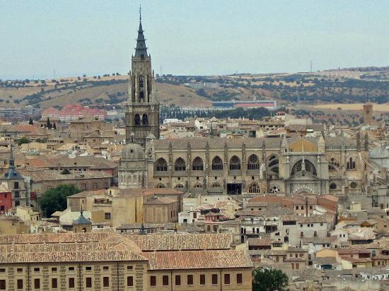 Parador de Toledo: Vista desde la terraza del bar
