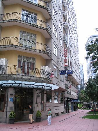 Exterior Of Hotel Rias Bajas