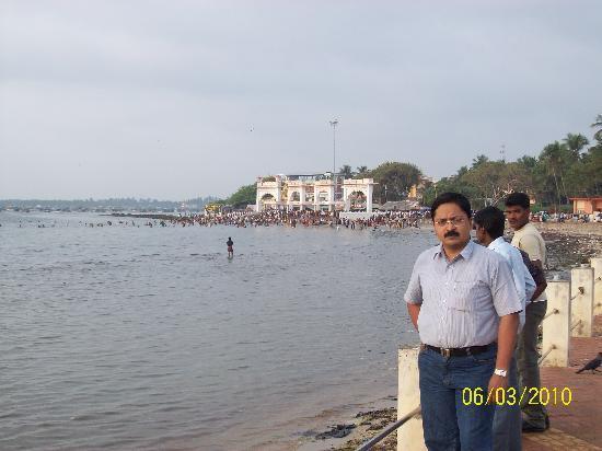 TTDC Tamil Nadu Hotel: View from Hotel