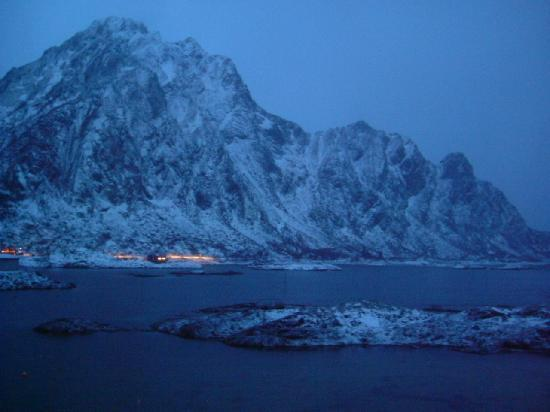 Svinøya Rorbuer: The view from our Cabin