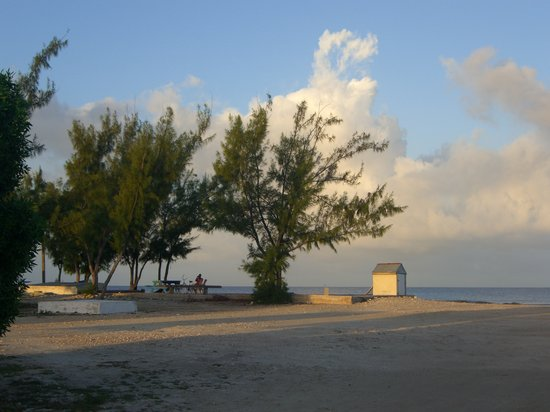 Salt Cay: morning at the dock