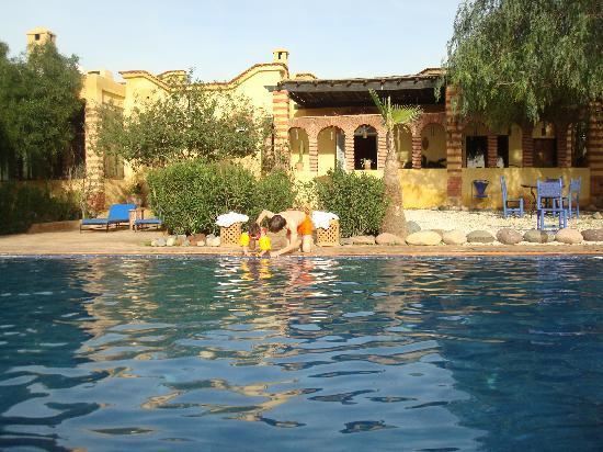 Villa Vanille: La piscine, juste devant la suite parentale