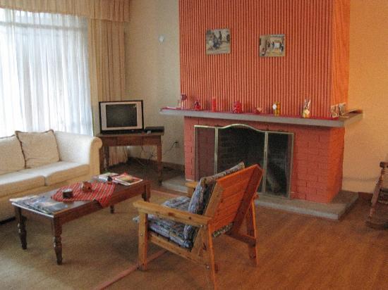 Hostel Las Orquideas: Living area