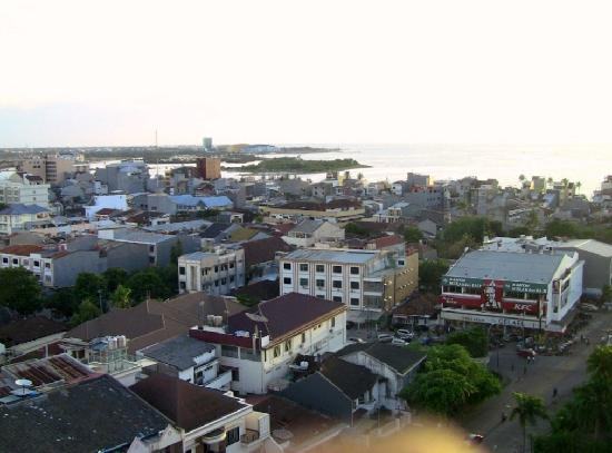 Singgasana Hotel Makassar: View from our room