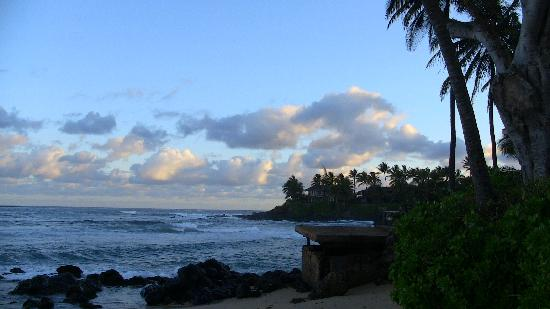 Paia Inn Hotel: sunrise in Paia