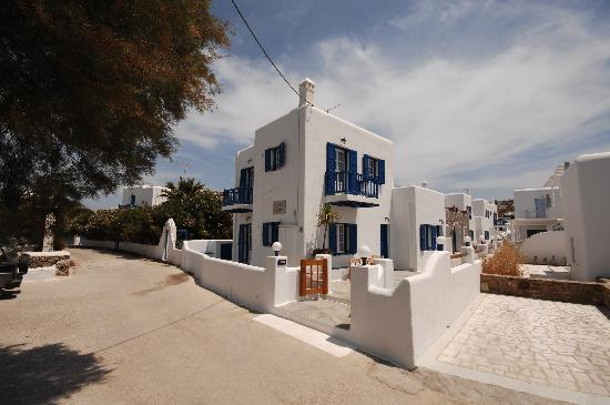 Ornos, Greece: Filoxenia Apartments