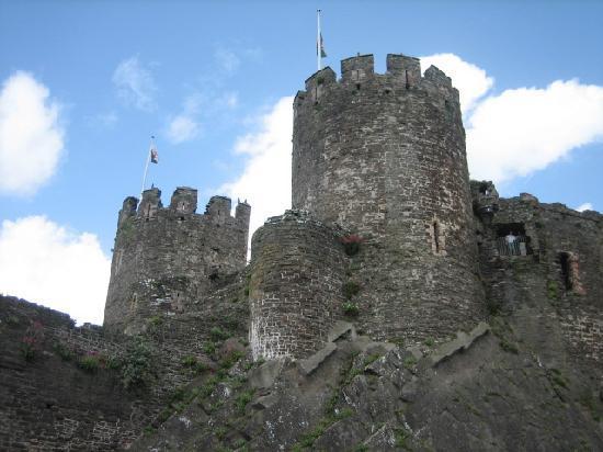 Castlebank Hotel: Conwy Castle