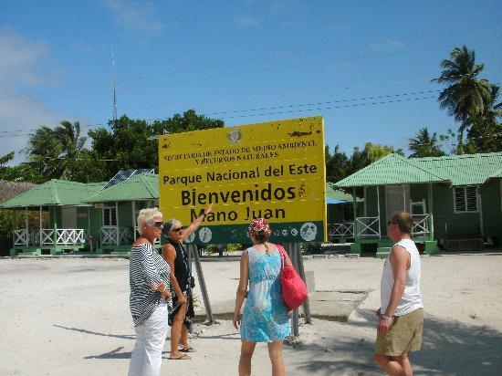 Bayahibe, Republik Dominika: wir sind hier gewesen - in Mano Juan