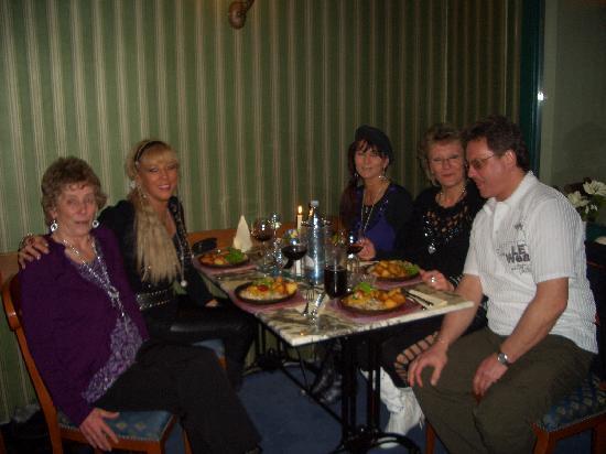 Thale, Tyskland: Das leckere Abendessen