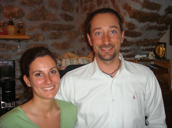 Agriturismo Bartoli: hosts Pietro & Simone