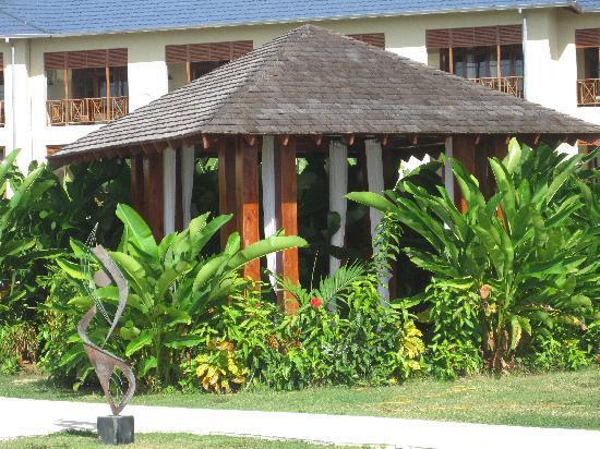 Moon Dance Cliffs: massage hut