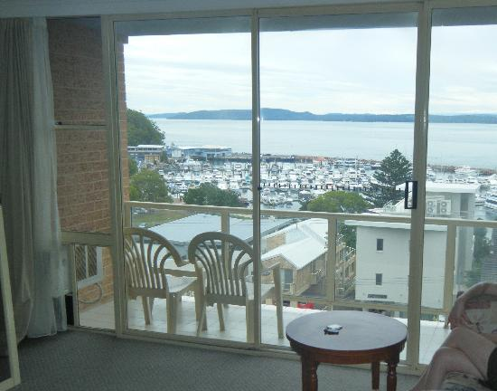 Port Stephens Marina Resort: View from the room