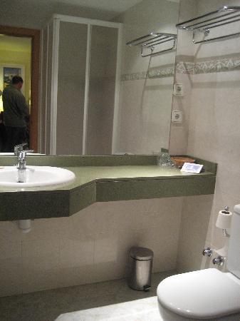 Hotel Bruxelles: Shower room. No bath.