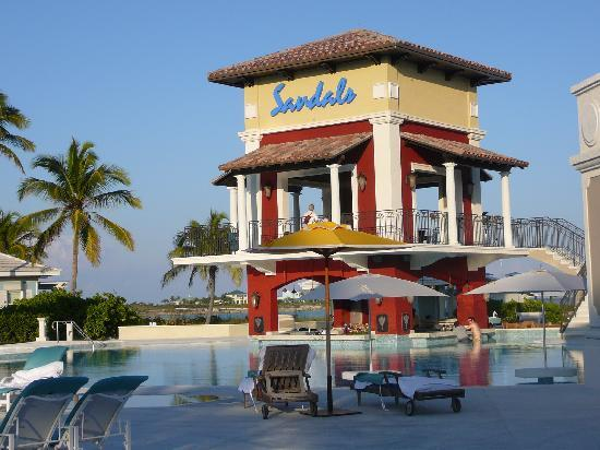 Sandals Emerald Bay Golf, Tennis and Spa Resort: Main Pool