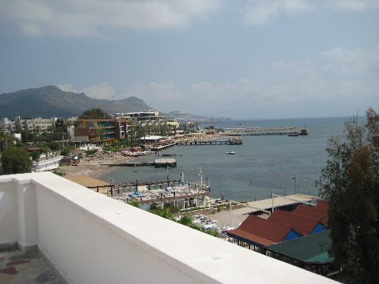 Aydem Beach Hotel: Vom Dach Hotel Aydem