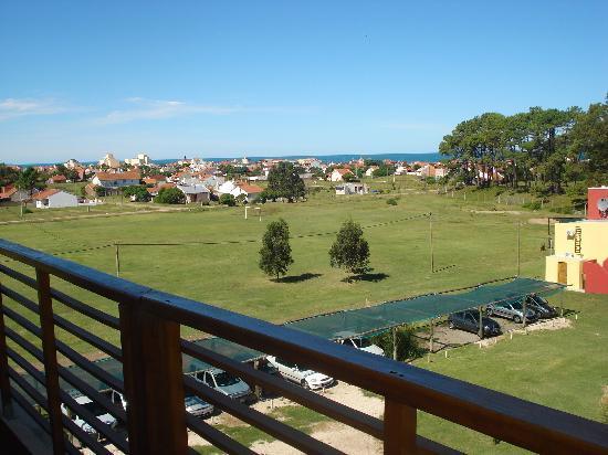 Puerta del Bosque Spa & Resort: Vista desde el balcon de la habitacion