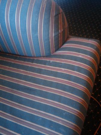 Residence Inn Birmingham Inverness: Sofa stains