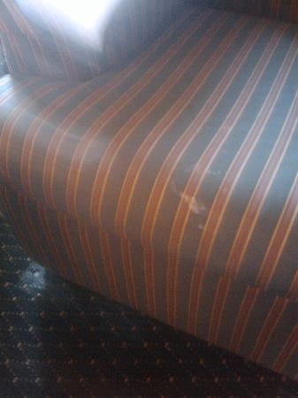 Residence Inn Birmingham Inverness: more sofa stains