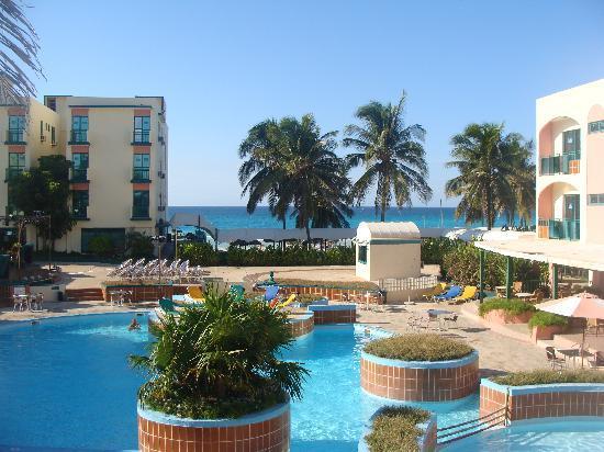 Hotel Los Delfines: vue panoramique los delfines