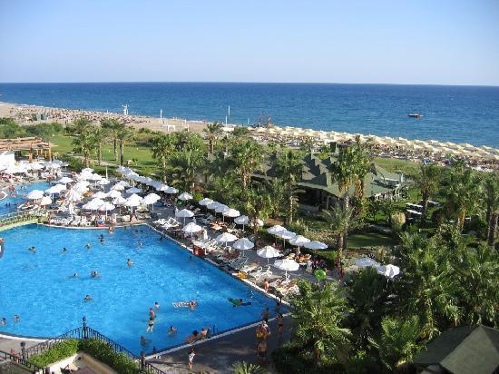 Lyra Resort & Spa: pool view