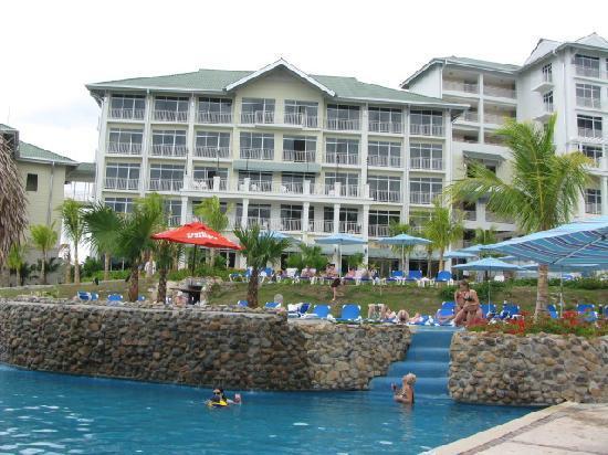 Sheraton Bijao Beach Resort : hotel arriere