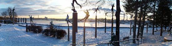 Лидинге, Швеция: il giardino intorno a Millesgården