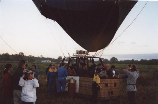 Atherton, Australien: Hot Air Ballooning Cairns