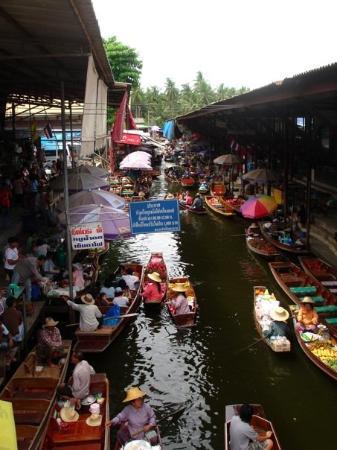 Damnoen Saduak Floating Market: Floating Market