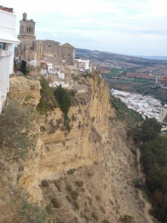 Arcos de la Frontera, Espanha: Cliff view
