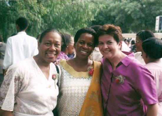 Габороне, Ботсвана: Friends from Botswana - Dec 2001.