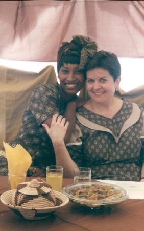 Γκαμπορόνε, Μποτσουάνα: Kopano, the bride.