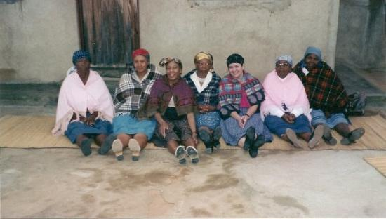 Botswana - traditional African village wedding - 2001.