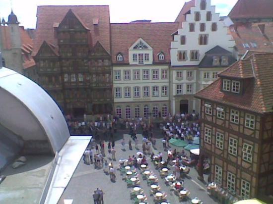 Hildesheim Germany Hotel View Of Historical Hidesheim Town