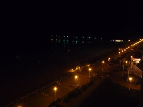 Night Lights At Virginia Beach Picture Of